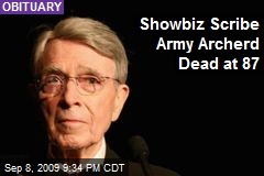 Showbiz Scribe Army Archerd Dead at 87