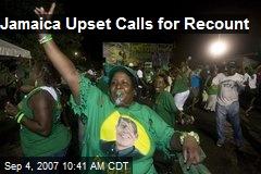 Jamaica Upset Calls for Recount
