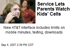 Service Lets Parents Watch Kids' Cells