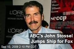 ABC's John Stossel Jumps Ship for Fox