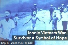 Iconic Vietnam War Survivor a Symbol of Hope