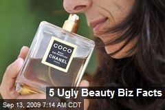 5 Ugly Beauty Biz Facts
