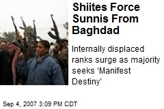 Shiites Force Sunnis From Baghdad