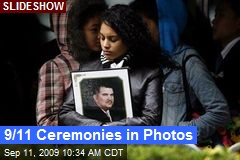 9/11 Ceremonies in Photos