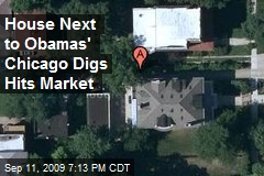 House Next to Obamas' Chicago Digs Hits Market