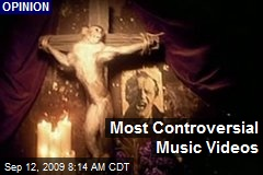 Most Controversial Music Videos