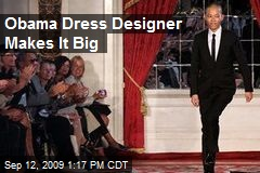 Obama Dress Designer Makes It Big