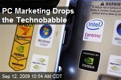 PC Marketing Drops the Technobabble