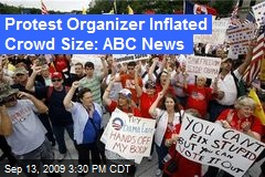 Protest Organizer Inflated Crowd Size: ABC News
