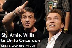Sly, Arnie, Willis to Unite Onscreen