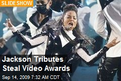 Jackson Tributes Steal Video Awards