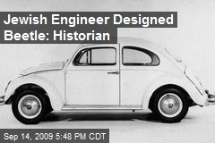 Jewish Engineer Designed Beetle: Historian