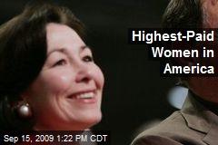 Highest-Paid Women in America