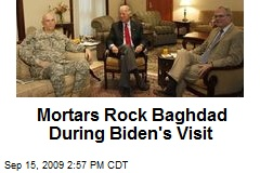 Mortars Rock Baghdad During Biden's Visit