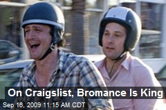 On Craigslist, Bromance Is King