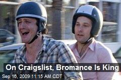 On Craigslist, Bromance Is King
