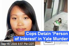Cops Detain 'Person of Interest' in Yale Murder