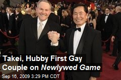Takei, Hubby First Gay Couple on Newlywed Game