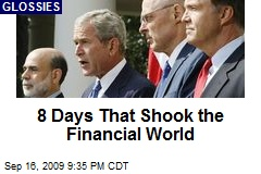 8 Days That Shook the Financial World