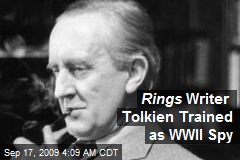 Rings Writer Tolkien Trained as WWII Spy