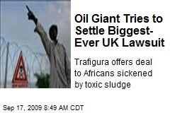 Oil Giant Tries to Settle Biggest- Ever UK Lawsuit