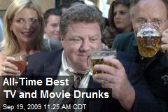 All-Time Best TV and Movie Drunks