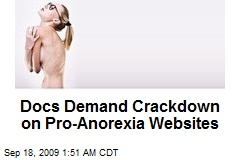 Docs Demand Crackdown on Pro-Anorexia Websites