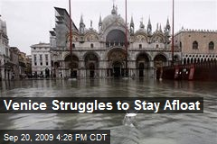 Venice Struggles to Stay Afloat