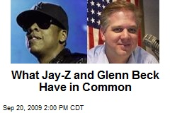 What Jay-Z and Glenn Beck Have in Common
