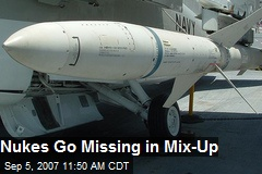 Nukes Go Missing in Mix-Up