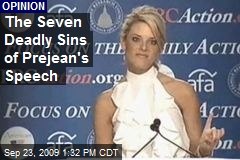 The Seven Deadly Sins of Prejean's Speech