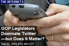 GOP Legislators Dominate Twitter —but Does It Matter?