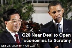 G20 Near Deal to Open Economies to Scrutiny