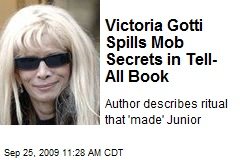 Victoria Gotti Spills Mob Secrets in Tell-All Book