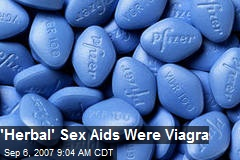 'Herbal' Sex Aids Were Viagra