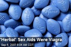 'Herbal' Sex Aids Were Viagra