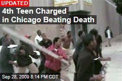 4th Teen Charged in Chicago Beating Death