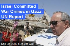 Israel Committed War Crimes in Gaza: UN Report