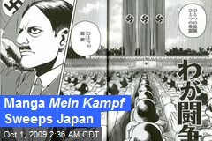 Manga Mein Kampf Sweeps Japan