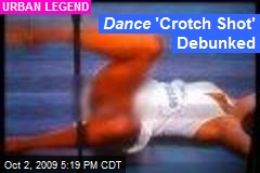 Dance 'Crotch Shot' Debunked
