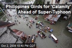 Philippines Girds for 'Calamity' Ahead of Super-Typhoon