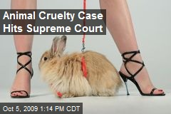 Animal Cruelty Case Hits Supreme Court