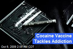 Cocaine Vaccine Tackles Addiction