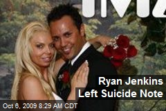 Ryan Jenkins Left Suicide Note