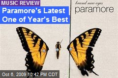 Paramore's Latest One of Year's Best