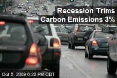 Recession Trims Carbon Emissions 3%