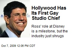 Hollywood Has Its First Gay Studio Chief