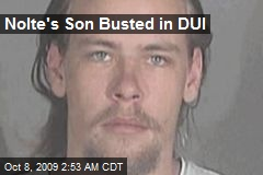 Nolte's Son Busted in DUI