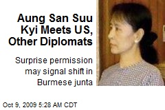 Aung San Suu Kyi Meets US, Other Diplomats