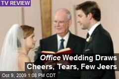 Office Wedding Draws Cheers, Tears, Few Jeers